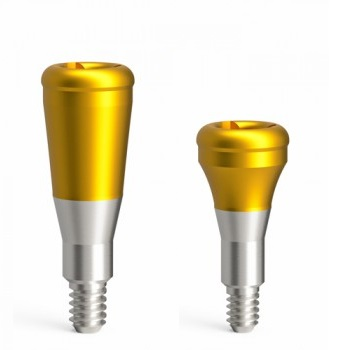 Abutments for attachment-retained restorations