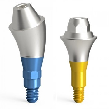Abutments for screw-retained restorations