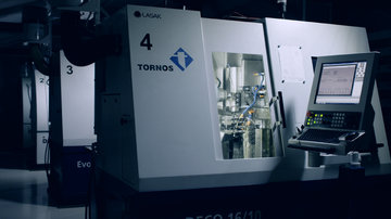 Tornos machining technology